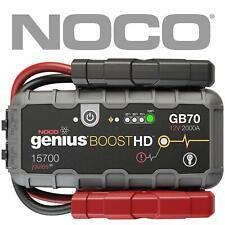 Noco Genius Booster GB70 Starthilfegerät 12V 2000A Jumpstarter Premium + Leuchte