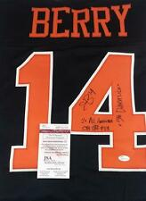 ERIC BERRY SIGNED TENNESSEE VOLS KANSAS CITY CHIEFS JERSEY PROOF COA JS ID: 5932