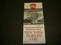 Pennsylvania Railroad Timetable July 26,1964 New York Worlds Fair Form 2, 1st Ed