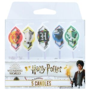 Harry Potter - 5 Character Candles