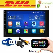 "7"" Touch Android 5.1 Car Standard Radio 2 DIN Stereo GPS OBD2 USB/SD Player"