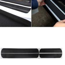 4 Pcs 5D Carbon Fiber Car Accessories Door Sill Scuff Protector Stickers Decal