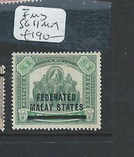 MALAYA FMS (P0810B) SURCHARGE FMS $1.00 ELEPHANT SG 11  MOG