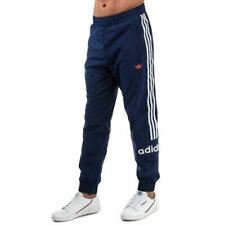 Men's adidas Originals Archive Regular Fit Ankle Zip Track Pants in Blue