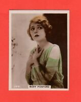 1927  144. Mary Pickford  BAT CINEMA STARS, SET 6  Film Card Rare