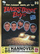 BACKSTREET BOYS 1997 HANNOVER -  orig.Concert Poster  --  Konzert Plakat  A1 NEU