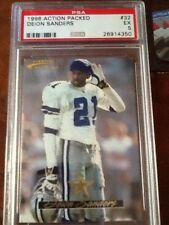 DEION SANDERS #21 *-1996 PINNACLE ACTION PACKED-DALLAS COWBOYS-CB/WR