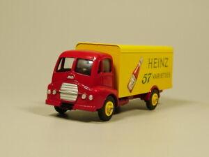 Dinky toys 1:43 CAMION COUVERT GUY VAN HEINZ Diecast model car
