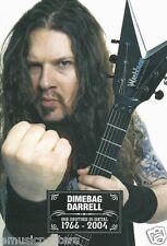 "PANTERA ""DIMEBAG DARRELL MAKING FIST"" POSTER FROM ASIA - Heavy Metal Music"