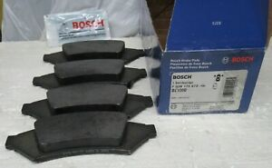 Bosch BE1000 Brake Pads  2-Wheel Set Front New, Pontiac Grand Prix 2004,Bosch