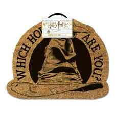 HARRY POTTER 'SORTING HAT' SHAPED COIR DOOR MAT - OFFICIAL LICENSED **NEW**