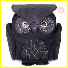 Stylish Owl Shape Solid Color Design Women Shoulder Satchel WOMEN BAG FAHION