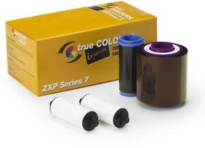Zebra Farbband TrueColours ZXP 7 ix Series Monochrome Schwarz 800077-711E Ribbon