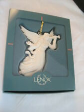 Lenox Renaissance Angel Trumpeting Ornament Porcelain Boxed