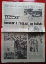 journal l'équipe 16/07/76 CYCLISME TOUR DE FRANCE 1976 MATHIS THEVENET
