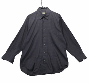 Brioni Men's Long Sleeved Casual Button Front Dress Shirt Size M Medium Cotton