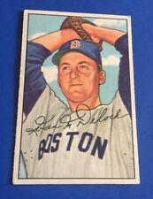1952 Bowman Ivan Delock RC #250 High # Boston Red Sox Baseball Card EX+