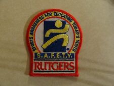 Patch Sports Awareness For Educating Today'S Youth Safety Rutgers