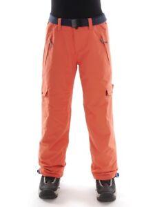 O'Neill Ski Pants Snowboard Pants Warm Pants Star Orange Belt Water Resistant
