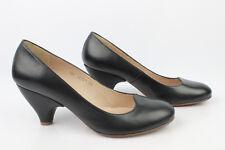 Zapatos SHANIBAR En Piel Negro T 38 EXCELENTE ESTADO