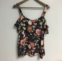 sweet pea by stacy frati For New York And Co. Floral Blouse Large