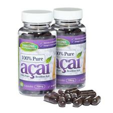 100% Pure Acai Berry 700mg 120 Capsules Weight Loss Pills Evolution Slimming