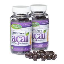 100% Pure Acai Berry 700mg 120 Cápsulas Pérdida De Peso Pastillas Evolution Slimming
