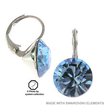 Ohrringe mit Swarovski Elements, Farbe: Aquamarin