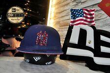 New Era x MLB NY Yankees Starred USA Flag 59Fifty Navy Fitted Baseball Size 71/2