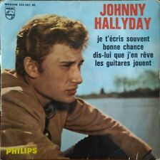 """Johnny Hallyday - Dis lui que j'en rêve - Vinyl 7"""" 45T (4 Titres)"""