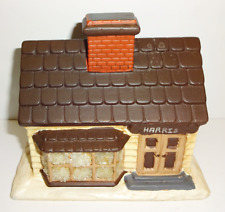 Vintage House Ceramic Christmas Village Hand Painted Byron Molds 1979