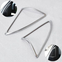 Chrome Front Door Sound Speaker Cover Trim For Land Rover LR3 LR4 Discovery 3 4
