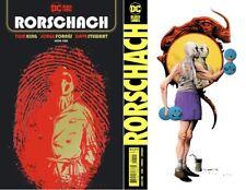(2020) RORSCHACH #1 + JAE LEE Variant Cover Set! Watchmen!