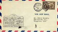 CANADA 1ers vols first flights airmail 14