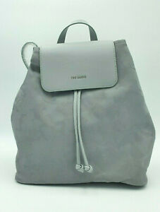 Ted Baker LLIA Camouflage Reflective Backpack Small Silver Wallet Purse GENUINE!