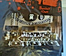 Spooky Town Tombstone Village Party Table Decor
