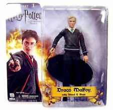 Harry Potter The Half Blood Prince Draco Malfoy Action Figure [With Wand & Base]