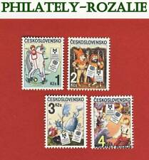 CZECHOSLOVAKIA SET STAMPS MNH ** 1985 Mi 2827/2830 ART - BIB