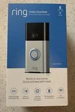 Ring Doorbell 720p HD Wi-Fi Video Doorbell - BRAND NEW Factory Sealed !