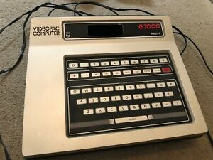 philips videopac g7000 console used and in good working order