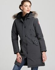 2016 Canada Goose Women's Kensington Parka Coat Jacket size L Graph  $900 NEW