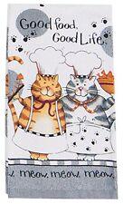 NEW - Kay Dee Designs Happy Cat Kitchen Terry Towel