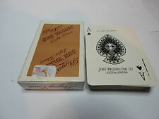 Players sun valley light Tobacco playing cards