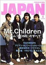 ROCKIN'ON JAPAN April 2007 04 Japanese magazine Music Book 15th Mr.Children