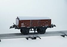 White Metal O Scale Model Train Carriages