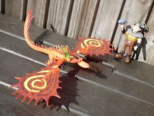 Tren Your Dragon Snotlout How to & Hookfang Monstrous Nighmare Figura Juguete Set