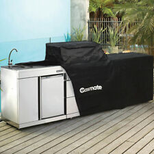 Gasmate GMPL6B Professional 6 Burner Outdoor BBQ Cover - Black