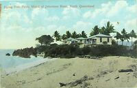 .RARE FLYING FISH POINT , JOHNSTONE RIVER NTH QUEENSLAND EARLY 1900'S POSTCARD.