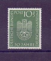 Bund 1952 - Dt. Museum - MiNr. 163 postfrisch** geprüft - Michel 30,00 € (373)