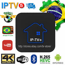 2017 IPTV5 Portuguese Version of TV BOX Brazilian LIVE TV HTV3 Upgrade 4K&BHT